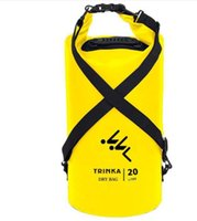 Wholesale dry bag 15l - Outdoor PVC Waterproof Dry Sack Storage Bag Rafting Sports Kayaking Canoeing Swimming Bag Travel Kits 2L 5L 10L 15L 20L
