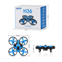 Wholesale H36 Mini Drone RC Drone Quadcopters Headless Mode One Key Return RC Helicopter Best Toys For Kids P0156