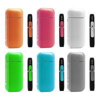 Wholesale paper wraps - IQOS Sticker OEM Wraps For IQOS Box Mod Customized Paper Cover Sticker Electronic Cigarette Skin With Logo For IQOS Vape Mods