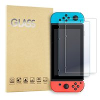 Wholesale Nintendo Screen Protectors - For Nintendo Switch Tempered Glass Screen Protector 9H Real Premium For Nintendo Switch With Retail Package