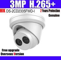 cctv ip67 venda por atacado-DS-2CD2335FWD-I 3MP H.265 + IP67 câmera POE CCTV IP Câmera de Rede POE Torre Ultra-Low com Logo