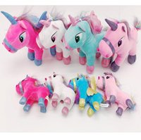 Wholesale baby stuffed animals for sale - New Unicorn plush toy cm cm stuffed animal Toy Children Plush Doll Baby Kids Plush Toy Good For Children gifts