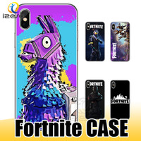 Wholesale iphone plus game case - Fortnite Phone Case for iPhone X Plus Plus Plus s s Hot FPS Game Designer Phone Cases Soft TPU Back Cover