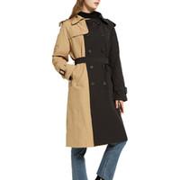 Mantel Damen Schwarz Mit Gürtel
