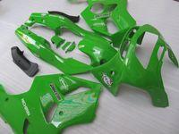 kit de carenado kawasaki zx6r 1997 verde al por mayor-Kit de carenado de motocicleta para KAWASAKI Ninja ZX-6R ZX 6R 1994 1995 1996 1997 ZX6R 94 95 96 97 Conjunto de carenados de ABS verde + 7gifts