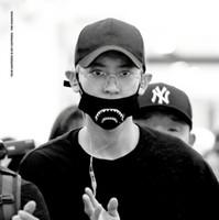 Wholesale Exo Chanyeol - New kpop EXO CHANYEOL The Same tooth Hip-hop Harajuku dust-proof warm mask