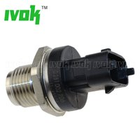 Wholesale renault man - New Fuel Rail Pressure Sensor For VOLVO MAN FIAT RENAULT IVECO CUMMINS
