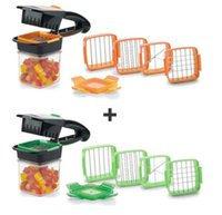 Wholesale kitchen tools online - Nicer Dicer Quick in Fruit Vegetable Cutter Set Includes Free Hand Format Muitifunction Kitchen Slicer Tools Cooking Cutters GGA1326
