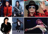 himmel bedrucktes papier großhandel-Michael Jackson Poster Klar Bild Wandaufkleber Dekoration Gute Qualität Drucke Weiß Beschichtetes Papier home art Marke MU43