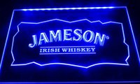 Wholesale neon lights whiskey for sale - Group buy LS039 g jameson whiskey bar club pub neon light signs Decor Dropshipping colors to choose