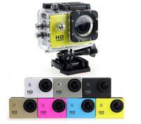 Wholesale video camera bicycle - SJ4000 1080P Full HD Action Digital Sport Camera 2 Inch Screen Under Waterproof 30M DV Recording Mini Sking Bicycle Photo Video Cam