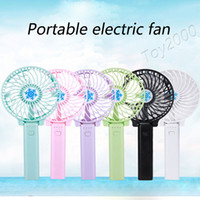 Wholesale hold battery - Summer Mini Fan Portable Hand Held Desk Humidification Mini Cartoon Fan Compact And Lovely Delicate and Durable Mini Hand Fan with battery
