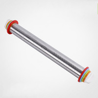 Wholesale b rollers resale online - Stainless Steel Dough Roller With Scale Adjustable Thickness Child Rolling Pins Safe Corrosion Resistant Kitchen Tool Top Quality yz B