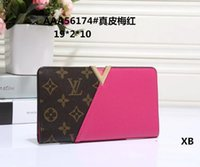 Wholesale cross dressing males - 2018 Male luxury wallet Casual Short designer Card holder pocket Fashion Purse wallets for men wallets purse with tags free shipping tag A02