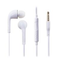 correr mp3 al por mayor-Audífonos con cable Audífonos intrauditivos Auricular con micrófono 3.5mm para correr con control de volumen Mic Auricular con bolso OPP