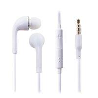 ingrosso earbuds dell'orecchio di 3.5mm-Auricolari con auricolari cablati Auricolari in-ear da 3,5 mm con cuffie per il controllo del volume con borsa OPP