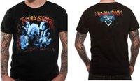 ingrosso nero in metallo contorto-Twisted Sister ufficiale Voglio Rock T Shirt Stay Hungry Glam Metal Black New Cool maglietta casual di orgoglio
