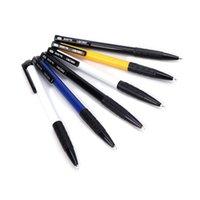 голубые шары для продажи оптовых-5 шт. / лот горячие продажи канцелярские товары высокого качества школьные канцелярские принадлежности синий 0.7 мм чернила шариковые ручки гибкие шариковые ручки