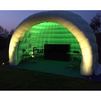 Wholesale party tent sales - inflatable igloo tent shelter for yard sale,Large Inflatable Party Tents,pop up led lighting outdoor dome tent