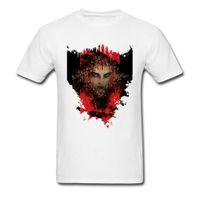 ingrosso sesso rotondo-Tops Shirt Night Stalker Cool T Shirt Sex Autumn Special Normal Full Cotton Girocollo Uomo Magliette Satan Tomb Raider Sex