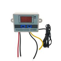 ingrosso controllo della temperatura del termostato digitale-220V -50C-110C Termostato digitale Regolatore di temperatura Regolatore Interruttore di controllo termometro Termoregolatore XH-W3001
