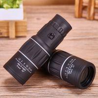 Wholesale HD x52 Monocular Telescope Dual Focus Monoculars for Adults WaterProof Low Night Vision Optics FMC BAK4 Prisms For Outdoors Bird watching