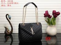 bolsas de mensajero de china al por mayor-Classic Flap Bag Women's Plaid Chain Bag Ladies Luxury High Quality Handbag Fashion Designer Purse China Bags Shoulder Messenger Bags # 25