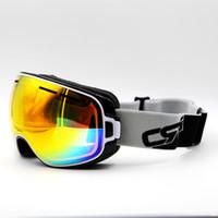 3043758e6fb Multi Lens Black Frame Brand New Ski Goggles UV400 Anti-Fog Eyewear Mask Glasses  Skiing Men Women Snow Snowboard Goggles
