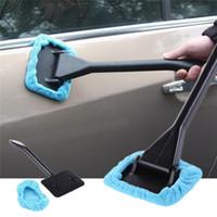 escovar janelas limpas venda por atacado-Pára-brisa do carro de Limpeza Escova De Toalha Pára Brisa Do Veículo Cuidados Removedor de Poeira Auto Home Janela de Vidro Limpador