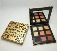 Wholesale Good Quality Makeup Palettes - Newest makeup Palette Maneater 9colors matte Eye shadow High-performance Naturals Good quality DHL shipping+Gift