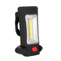 Wholesale ultrafire flashlight online - Outdoor Sports Gear LED Flashlight Hiking Camping Travel Multi Function Magnetic Folding Battery Hook Light Rechargeable Lamps yt bb