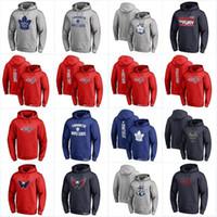 ingrosso hoodies foglia d'acero-Toronto Maple Leafs Washington Capitals 2018 Stadium Series Felpe Pullover Pullover con cappuccio Pullover di alta qualità