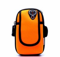 braçadeira para bolso móvel venda por atacado-Braçadeira para iphone 7 plus iphone 6 s universal esporte running bag para iphone 7 6 plus telefone móvel arm band ao ar livre bolsa
