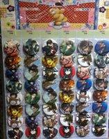 ingrosso perno giapponese-Nuovo attacco giapponese anime 48pcs / set su badge pin titan, distintivo spilla rotonda accessori abbigliamento per bambini 4.5 cm spedizione gratuita