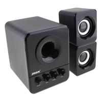 ingrosso d basso-SADA D-203 Wired Mini portatile Bass Cannon 3W PC combinato con altoparlante da 3,5 mm e USB 2.1 con cavo PMP_70Q