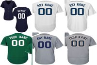 Wholesale Womens Jersey Tops - Customized Mens Womens Kids Toddlers Detroit Sport Jersey Custom Any name Any NO. Flex Cool Base Top quality Baseball Jerseys Wholesale