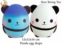 Wholesale apple eggs - New Jumbo Slowly Scented Squishy Squeeze Panda Egg Toy Decompression Call(Current, decompression)