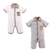 Wholesale Girls Pajamas Size - Summer Style Baby Boy Romper Newborn Baby Clothes pajamas New Born Baby Girl Clothing Ropa Bebe Children Toddlers Rompers HB022