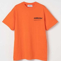 Wholesale clothing hiphop man for sale - 4COLORS Ambush a Quality Printed Women Men T shirts tees Hiphop Brand Clothing Men Cotton Short Sleeve T shirt For Summer