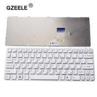 teclado vaio venda por atacado-GZEELE teclado do laptop russo para SONY para VAIO SVE11 SVE111 SVE11113FXB SVE11115EG SVE111 15ELW RU layout