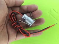 Wholesale Mini Spotlights Cabinet - 9pcs lots Recessed installation DC12v 1W mini LED Puck Cabinet Light,mini LED spotlight(non power)