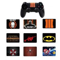 Wholesale custom ps4 controllers for sale - Group buy Custom PVC Touch Pad Vinyl Sticker Decal Cover For PS4 Pro Slim Controller Touchpad Skin DHL FEDEX EMS