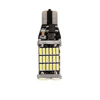 921 birne t15 großhandel-LOONFUNG LF115 T15 W16W LED-Rücklichter 920 921 912 Canbus 4014 45SMD Highlight LED-Rückfahrscheinwerfer-Glühlampen DC12V