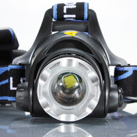 Wholesale high power headlamp waterproof for sale - Group buy XML T6 Bike Bicycle Headlamp Headlight Zoomable Adjustable LED Light Rechargeable Zoomable Waterproof High Power Led Headlamp for Camping