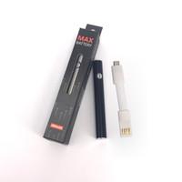 Wholesale pens manufacturers for sale - Group buy max Preheat Battery manufacturer mAh VV Vape Pen Battery for Liberty Thick Oil Vaporizer AC1003 Th205 C9 Glass Ceramic oil Cartridge