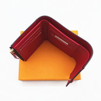 brieftasche frauen berühmte marke großhandel-Paris-Artfrauenmappe berühmte Frauen Luxus-Designermarkenmappen beschichtete Segeltuch- und wirkliche lederne kleine Mappen mit Reißverschlussmünzfach