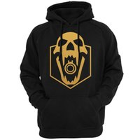 vêtements de crâne hommes achat en gros de-Tom Clancys Rainbow Six Siege Logo Crânes Hommes Sweats Sweats Casual Vêtements Jeu Vidéo Gaming Vêtements À Capuche vêtements D18100702