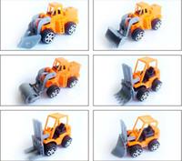 Wholesale toy construction trucks resale online - Kid Mini Model Cars set Construction Vehicle Engineering Car Dump car Dump Truck Model Classic Toy Mini Gift for Boy