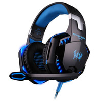 Wholesale one laptop for online - KOTION EACH G9000 mm Gaming Headphone Headband Headset with Microphone LED Light for Laptop Mobile Phones Xbox ONE PS4