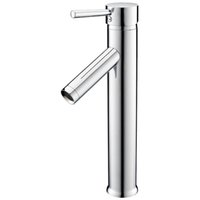 Wholesale Faucet Levers - EWS-High Single Lever Washbasin Mixer Tap Faucet Washbasin Highly Extended Single Lever Mixer Chrome Bath Bathroom S